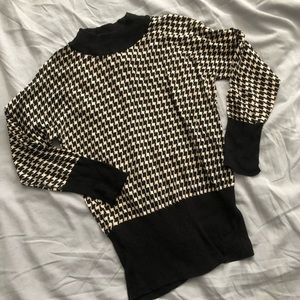 H&M Turtleneck Silk Sweater